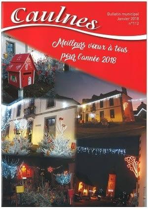 bulletin communal de janvier 2018 de Caulnes