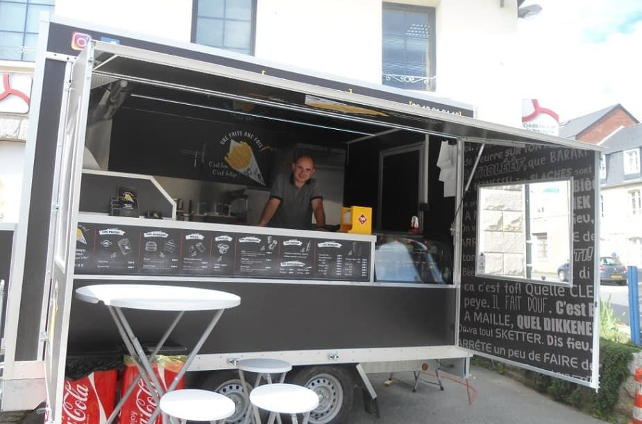 food truck frites belges caulnes