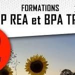 Formations BP REA et BPA TPA