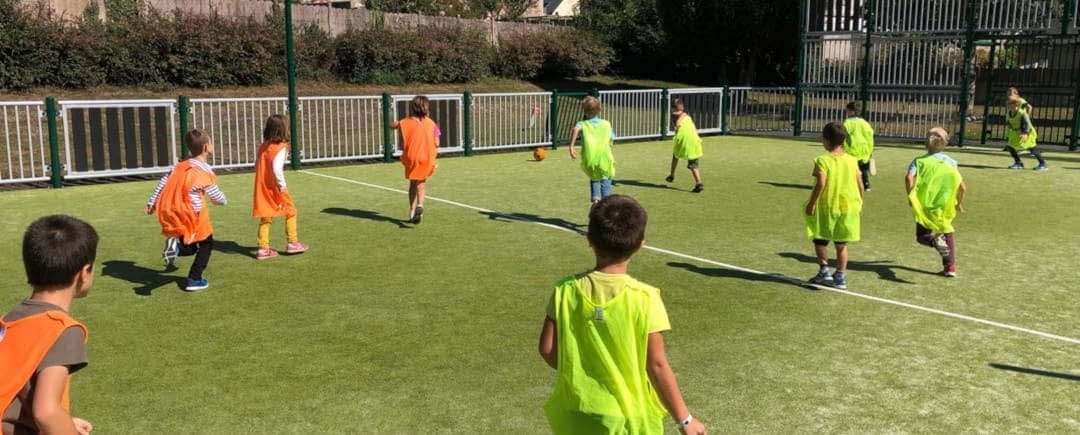 foot sur terrain multisports